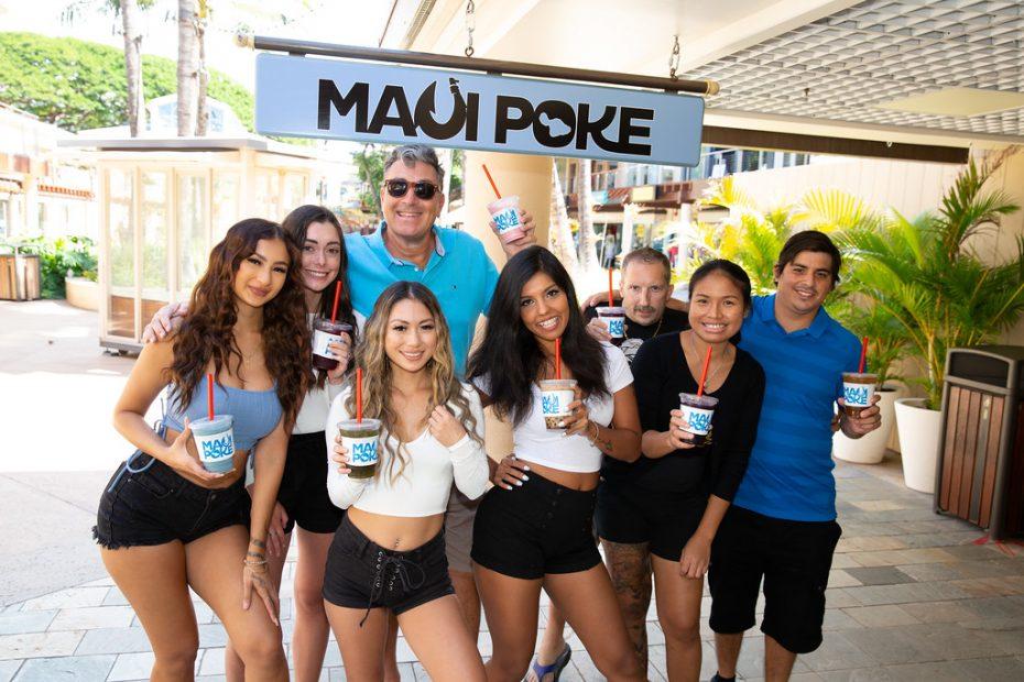 Cheers from Maui Poke Kaanapali Hawaii