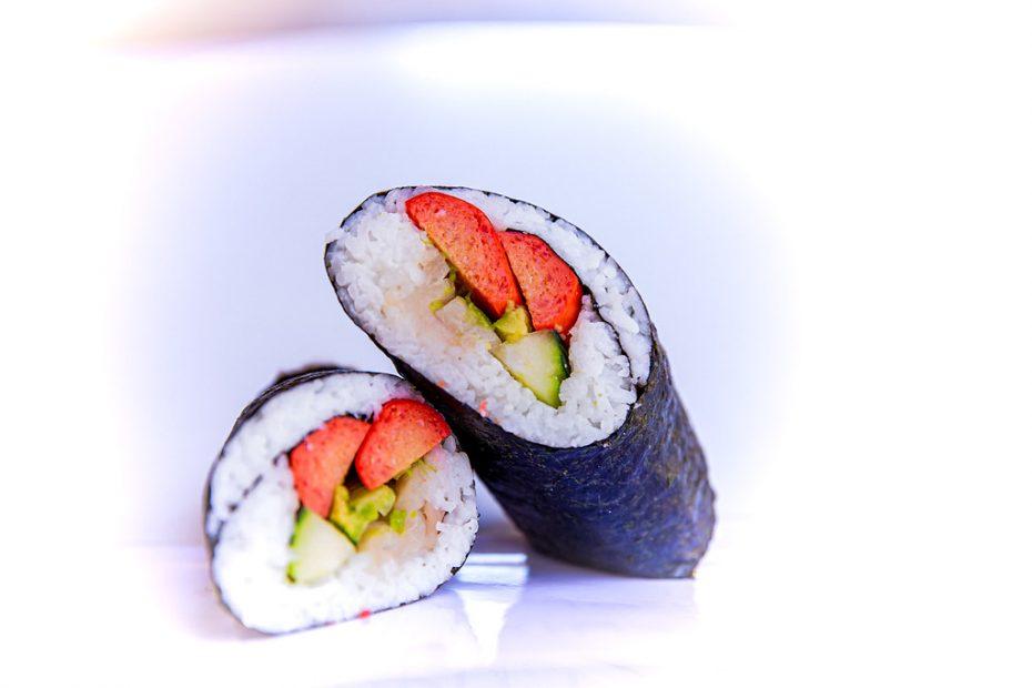 Sushi Roll with Redondo Hot Dog